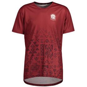 Maloja GuaudM. Multi 1/2 Short Sleeve Multisport Jersey Men red monk
